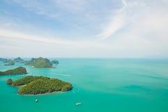 angthong θαλάσσιο εθνικό πάρκο νησιών ομάδας Στοκ φωτογραφίες με δικαίωμα ελεύθερης χρήσης