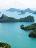 angthong νησιά NP Ταϊλάνδη Στοκ Εικόνες