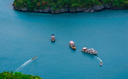 Angthong-Insel Thailand Lizenzfreie Stockfotos