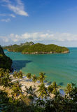 AngThong Marine National Park Viewpoint,Samui,Thailand Stock Photos