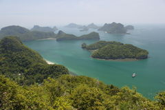 Angthong marine park Royalty Free Stock Images