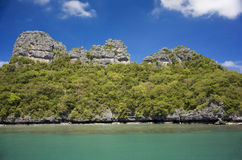 Angthong marine park in Thailand Royalty Free Stock Photos
