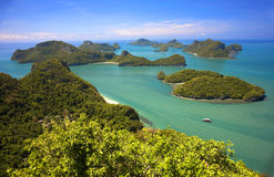 Angthong marine park in Thailand Stock Images