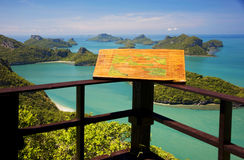 Angthong marine park in Thailand Royalty Free Stock Photo