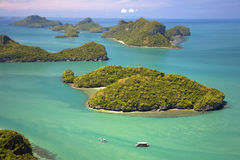 Angthong marine park in Thailand Stock Photo