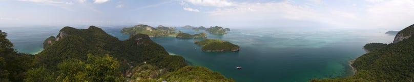 Angthong National Marine Panoramic Stock Images