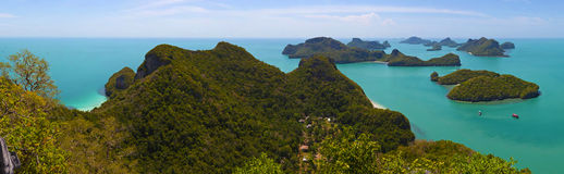 Angthong national marine park Stock Photo