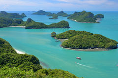 Angthong national marine park Royalty Free Stock Images