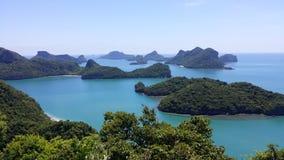 AngThong nationalpark, Thailand Fotografering för Bildbyråer