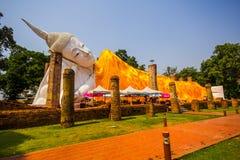 Angthong Tailandia di Watkhuninthapramul fotografie stock libere da diritti