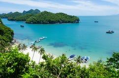 Angthong wyspa Obrazy Royalty Free