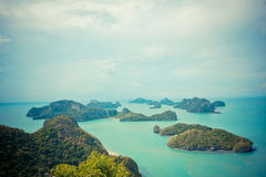 Angtong islands Royalty Free Stock Images