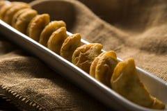 Angu pastel, Kukurydzany pastel, Brazylijski jedzenie, tradicional jedzenie/ Zdjęcie Royalty Free