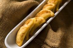 Angu pastel, Kukurydzany pastel, Brazylijski jedzenie, tradicional jedzenie/ Obrazy Stock