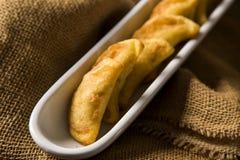 Angu pastel, Kukurydzany pastel, Brazylijski jedzenie, tradicional jedzenie/ Fotografia Stock