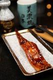 Anguila asada a la parrilla Imagen de archivo