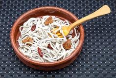 Anguilas jóvenes cocinadas Fotografía de archivo libre de regalías