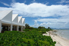 Anguilla. Beach ocean cove private white Stock Image