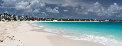 Anguilla, Brits gebied overzee in de Caraïben stock fotografie