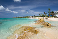Anguilla brittiskt utländskt territorium i det karibiskt Royaltyfri Foto