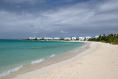 Anguilla, Caribbean sea Royalty Free Stock Image