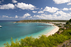 Anguilla, Caribbean sea. Anguilla, English Island, Caribbean sea royalty free stock photo