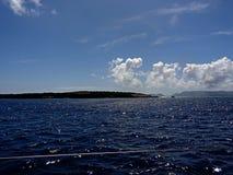 Anguilla Coast near Saint Martin Stock Photo