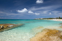 Anguilla-Insel, karibisch stockfotografie