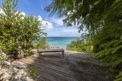 Anguilla plaże: Tłum zatoka zdjęcia royalty free
