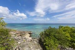 Anguilla plaże: Tłum zatoka obraz royalty free