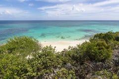 Anguilla plaże: Tłum zatoka zdjęcia stock