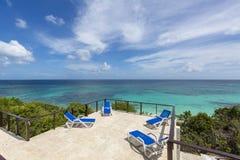 Anguilla plaże: Tłum zatoka obraz stock