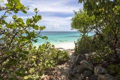 Anguilla plaże: Tłum zatoka fotografia royalty free