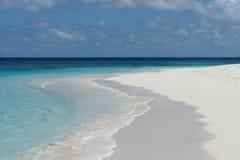 Anguilla. Shoal Bay beach ocean sand and sky Stock Photo