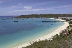 Anguilla Strand Stock Fotografie