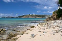 Anguilla, territoire d'outre-mer britannique dans les Caraïbe images stock