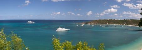 Anguilla, territorio d'oltremare britannico nei Caraibi Immagini Stock Libere da Diritti
