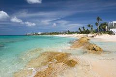 Anguilla, territorio d'oltremare britannico nei Caraibi Fotografia Stock Libera da Diritti