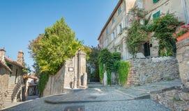 Anguillara Sabazia, провинция Рима, Лацио Италия Стоковое Изображение