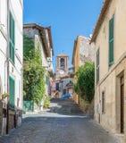Anguillara Sabazia, Rzym prowincja, Lazio Włochy Zdjęcie Stock