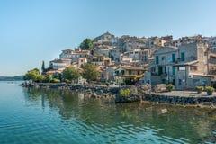 Anguillara Sabazia, Rzym prowincja, Lazio Włochy Fotografia Royalty Free