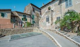 Anguillara Sabazia, Rzym prowincja, Lazio Włochy Zdjęcia Stock