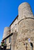 Anguillara slott. Ronciglione. Lazio. Italien. Arkivbilder