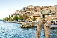 Anguillara Sabazia - Rome - Bracciano lake - Italy Stock Photography