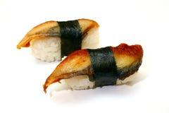 Anguille japonaise de nourriture photos libres de droits