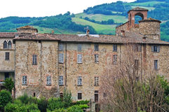 Anguissola Castle. Travo. Αιμιλία-Ρωμανία. Ιταλία. Στοκ φωτογραφία με δικαίωμα ελεύθερης χρήσης