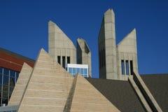 Angular Architecture Stock Photo