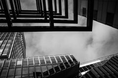 Angular architecture Royalty Free Stock Photography
