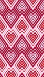 Zig zag scales wallpaper pattern Royalty Free Stock Image