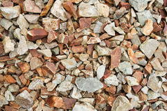 Angular Cobble Rock Background Royalty Free Stock Photography